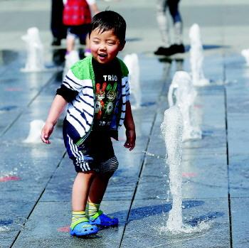 山东省各地气温普遍升高