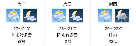 福建厦门未来三天天气不稳定 气温将继续回升