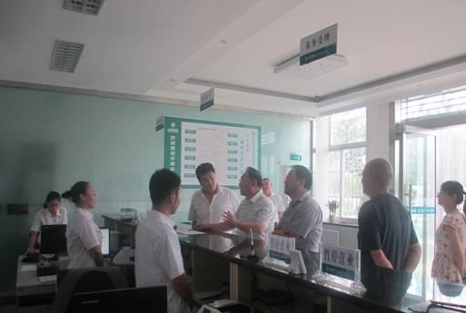7月22日 山西省局范局长莅临检查ETC晋城西营业厅