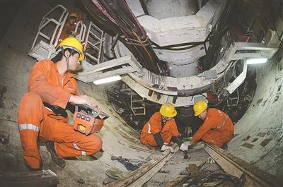 南京地铁施工过程中不忘保护历史建筑
