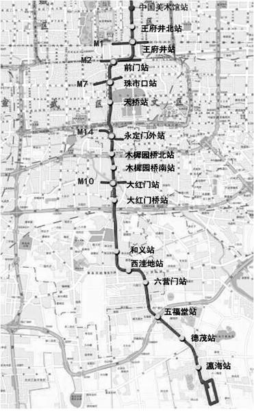 北京地铁八号线三期南延段计划明年底将全线开通
