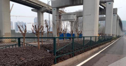 重庆巴南市区安装道路护栏 提高交通安全