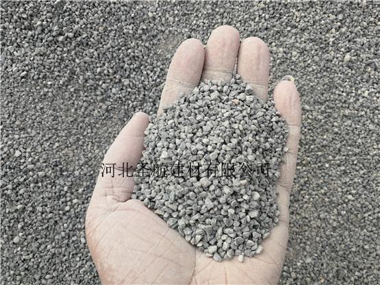 厂家供应唐山公路建设用透水混凝土石子,唐山透水石子货源充足