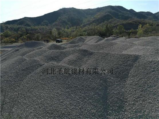 销售徐水高速公路建设用透水混凝土石子,徐水透水石子货源足